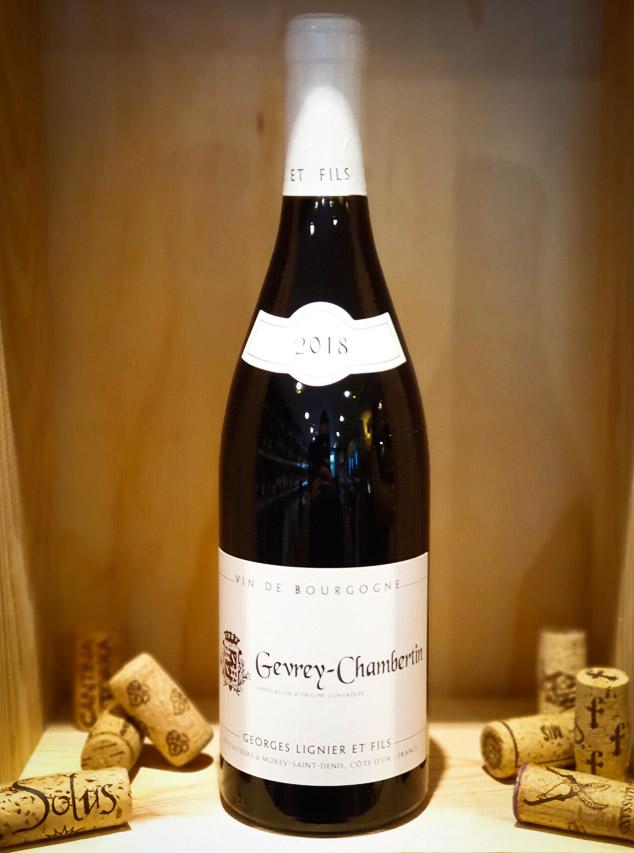 Gevrey Chambertin 2018 Geoges Lignier & Fils